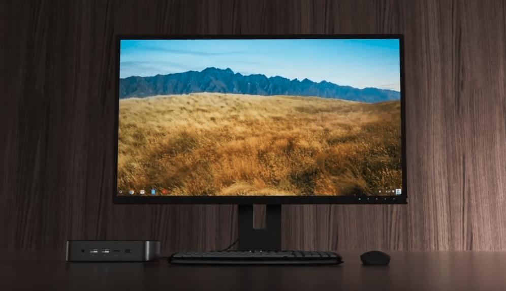 Chromebox de Chrome OS desktop pc