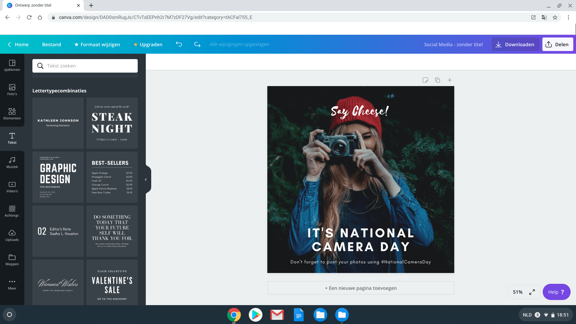 photoshop alternatief canva app voor chromebook